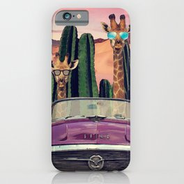 Giraffes are cool too iPhone Case