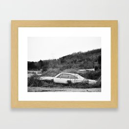 Car - Abandoned Dreams  Framed Art Print