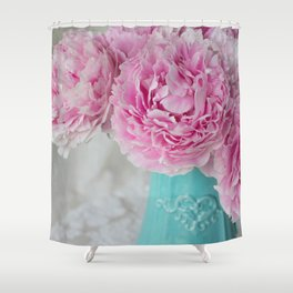 Peony Afternoon 3 Shower Curtain