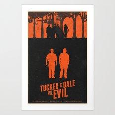 Tucker & Dale VS. Evil Art Print