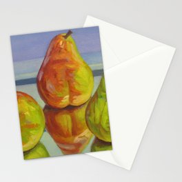 Pear Reflection Stationery Cards
