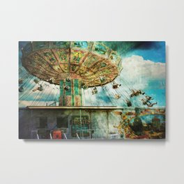 Dear mom...I joined the circus Metal Print