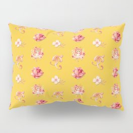 Purrrfectly Pretty Kitty Pillow Sham
