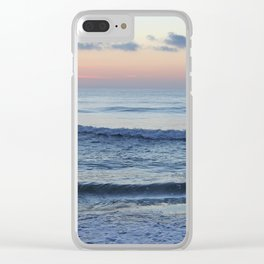 Ocean Blues Clear iPhone Case