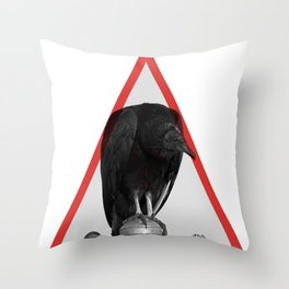 Cathartidae Throw Pillow