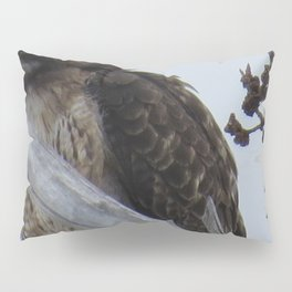 Eagle in a tree Pillow Sham