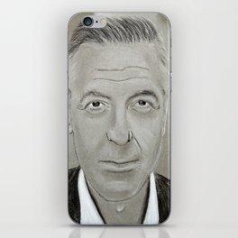 Georges Clooney iPhone Skin