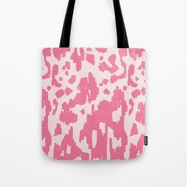 Modern Abstract Ikat pink #homedecor Tote Bag