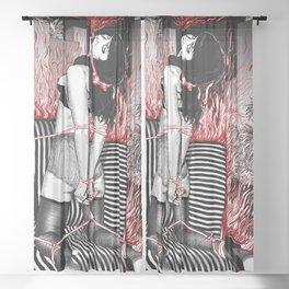 My Own Private Alcatraz Sheer Curtain