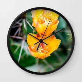 Every Desert Blooms Wall Clock