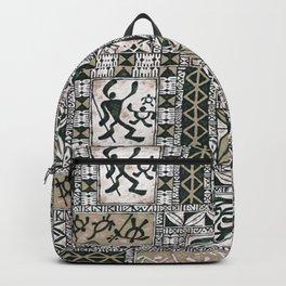 Hawaiian Honu Tapa Cloth Backpack