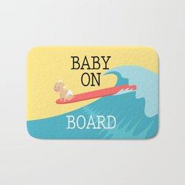 Baby On Board Bath Mat