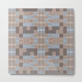 Wood print VI Metal Print