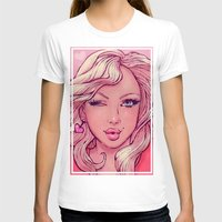 blondie T-shirts featuring Hello Blondie! by JuicyBomb