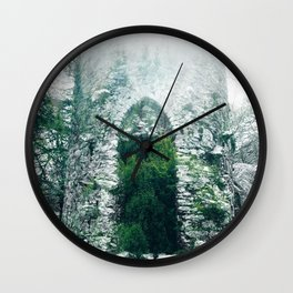 Forest Castle Wall Clock