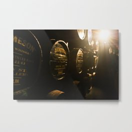 Jameson Irish Whiskey Metal Print