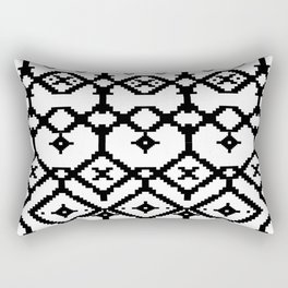 pattern of memories Rectangular Pillow