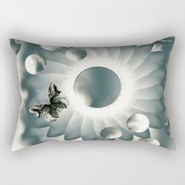 Rêverie en bleu-gris  2020 Rectangular Pillow