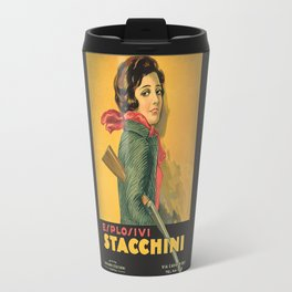 The Explosive Girl - 1929 Travel Mug