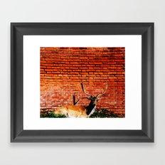 Intruder #society6 Framed Art Print