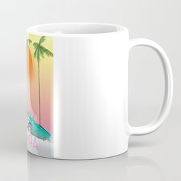 Tampa Florida Travel poster Coffee Mug