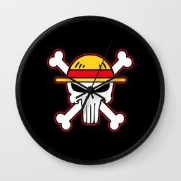 Straw Hat punisher Wall Clock