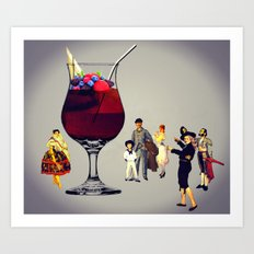 MixMotion: Cobbler Family Art Print