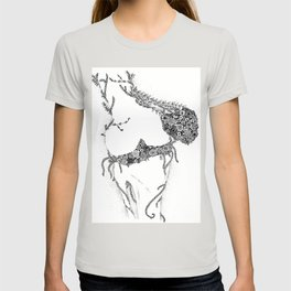 Anatomy Series: Knee Flowers T-shirt