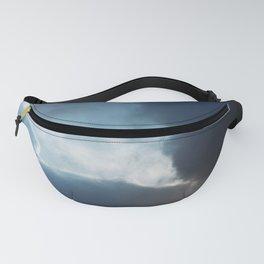 Dark clouds Fanny Pack