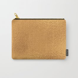 Simply Metallic in Bronze Carry-All Pouch