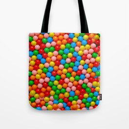 Mini Gumball Candy Photo Pattern Tote Bag
