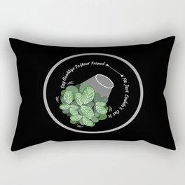 Terrified Houseplants - Good Omens Fanart Rectangular Pillow