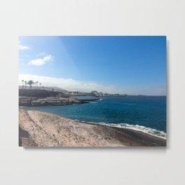Playa del Duque Metal Print
