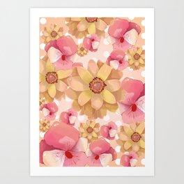 """flowers4"" Art Print"