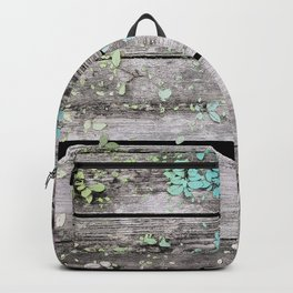 Planks and leaves Backpack