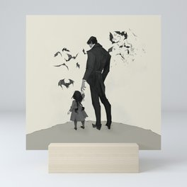 Father Daughter Time Mini Art Print
