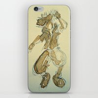 kingdom hearts iPhone & iPod Skins featuring Sora KINGDOM HEARTS coffee art by DarkGrey Heroine