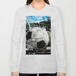 Modern soccer ball art vs 8 Long Sleeve T-shirt