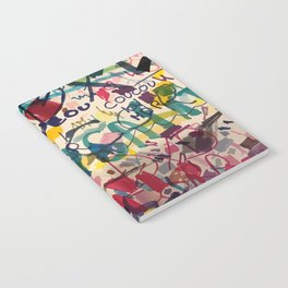 Urban Graffiti Paper Street Art Notebook