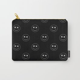 emoji smiley face pattern Carry-All Pouch