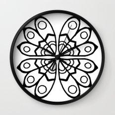 Pattern 4 Wall Clock