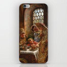 Konstantin Makovsky - A Boyar wedding feast iPhone Skin