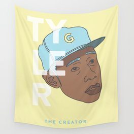 Flower boy Wall Tapestry