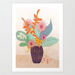 Tropic In A Pot #society6 #buyart #decor Art Print