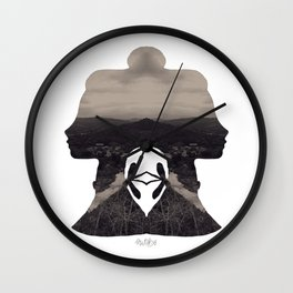 Miss River Wall Clock