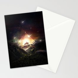 The Glass Mountain Stationery Cards