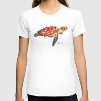 turtle T-shirts featuring Turtle by Alexander Cox