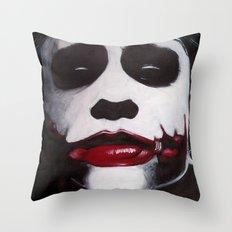 THE JOKER'S HIGHWAY Throw Pillow