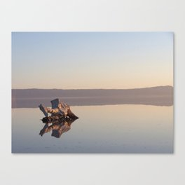 Salt Lake Tunisia Canvas Print