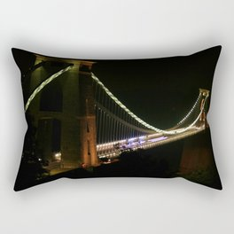 Night in Avon Gorge Rectangular Pillow